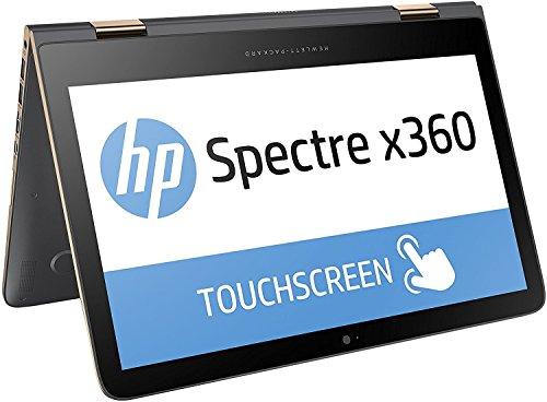 HP Spectre x360 (13-4203ng) 33,8 cm (13,3 Zoll/ QHD OLED) Convertible Laptop (Intel Core i7-6560U, 512GB SSD, 8GB RAM, Windows 10) grau/kupfer