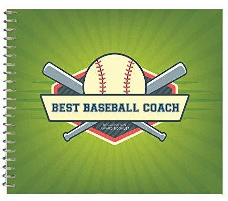 Preisvergleich Produktbild Best Coach Anerkennung Award Booklet baseball