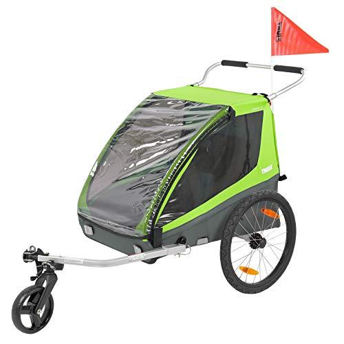 Th ule Coaster XT Remorque vélo Buggy Vert 45 kg