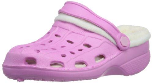 Playshoes Unisex-Kinder Eva gefüttert Clogs, Pink (rose 14), 20/21 EU