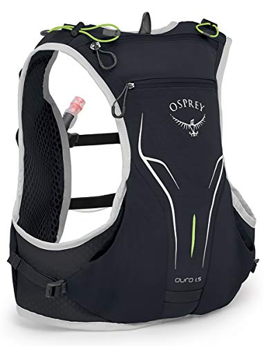 Osprey Duro 1.5 Running Hydration Vest, Alpine Black, Medium/Large