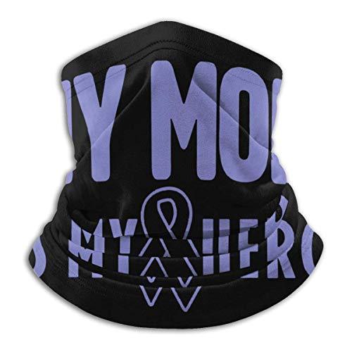 XXWKer Microfibre Chapeaux Tube Masque Visage Tour de Cou Cagoule, Stomach Cancer Awareness Men & Women Cold Weather Ultimate Thermal Retention Face