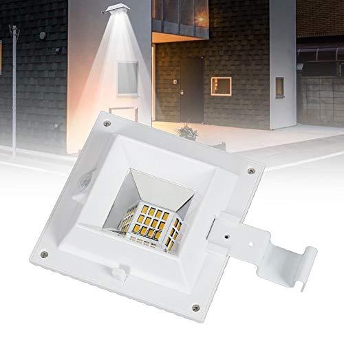 4 Pack De Iluminación Exterior Luces De Energía Solar Luz De Canaleta...