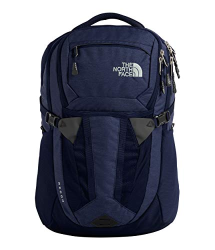 The North Face Recon Backpack, Montague Blue Light Heather/High Rise Grey, One Size