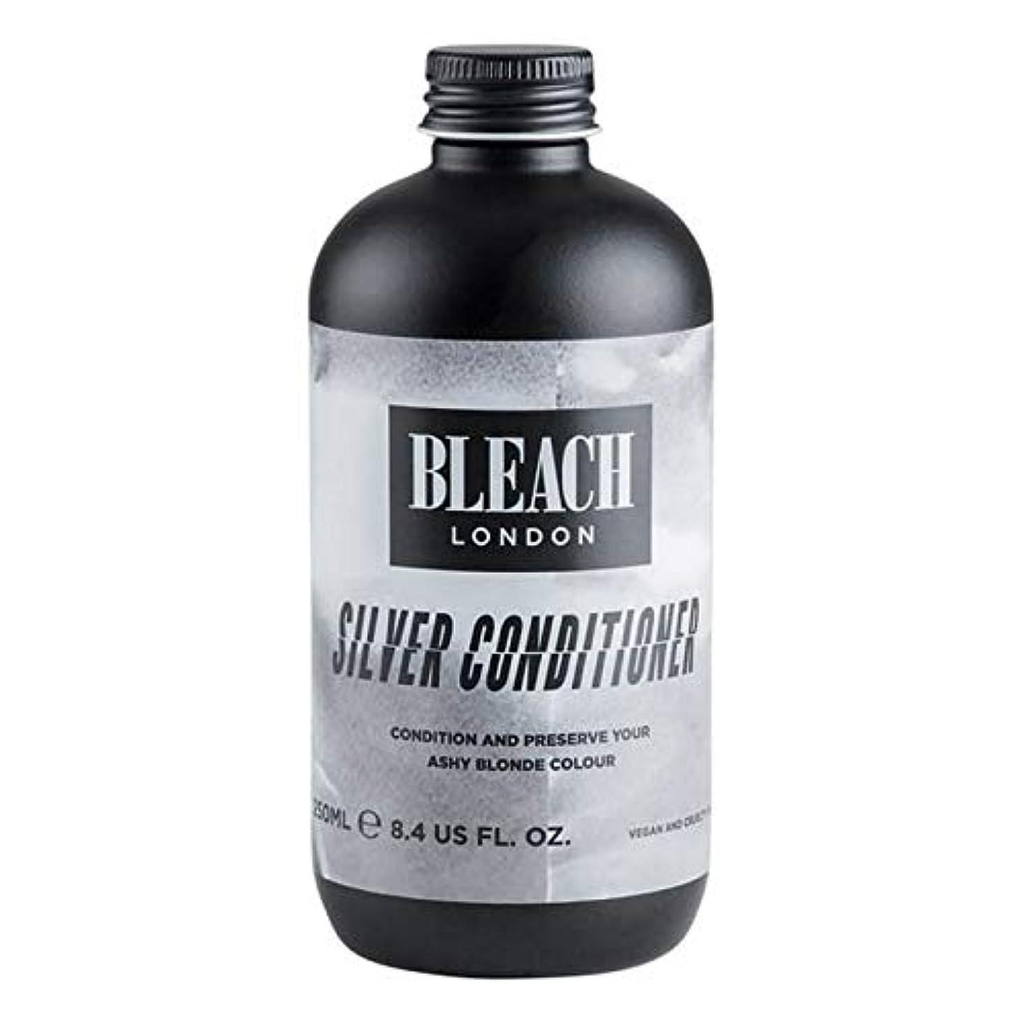 超高層ビル知恵数学的な[Bleach London ] 漂白ロンドン銀コンディショナー250Ml - Bleach London Silver Conditioner 250ml [並行輸入品]