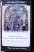 Greek Legacy CDs: Classical Origins of the Modern World - The Teaching Company (The Great Courses)