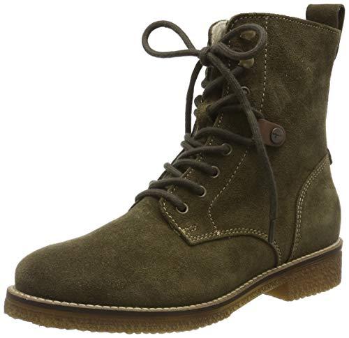 Tamaris Damen 1-1-25249-23 Combat Boots, Grün (Olive 722), 39 EU