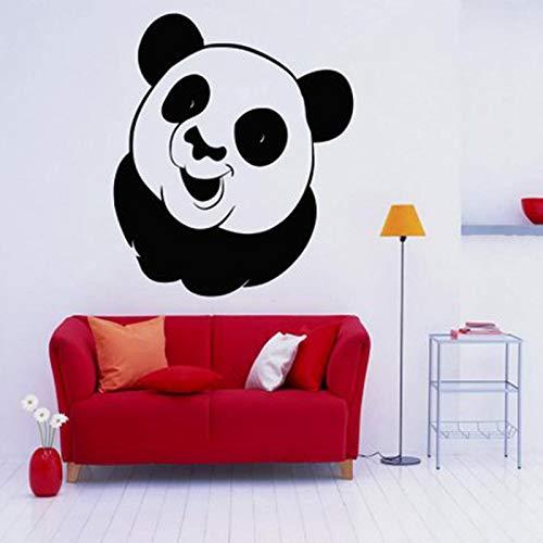 Geiqianjiumai Panda dier muurtattoos kinderkamer muurtattoos kleuterschool wanddecoratie sticker auto sticker huisdier etalagedecoratie