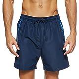 Calvin Klein Medium Drawstring Bañador, Azul (Black Iris 19-3921 CBK), S para Hombre