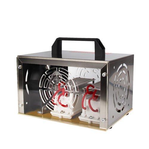 JIAN YA NA 20g Ozongenerator Luftreiniger Ozongerät Ozonisator Ozon-Maschine +Edelstahl-Box