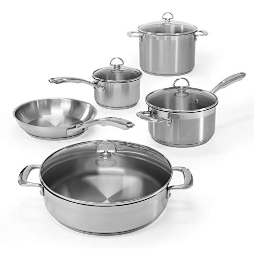 Chantal 9 Piece Cookware Set