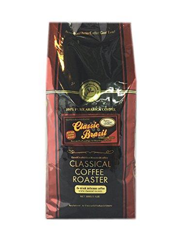 コーヒー豆 クラシカルコーヒーロースター 100%アラビカ豆 クラシックブラジル 500g(1.1lb) 豆のまま 送料無料