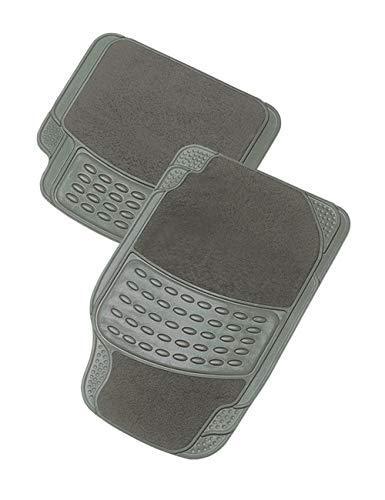 Tappetino per automobile KRAWEHL - AZ.2501.01203GR - PVC/Moquette - UNIVERSALE - Grigio