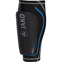 JAKO Shinguards Striker, Black / Blue, M