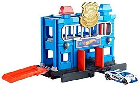 Hot Wheels FNB00 City Downtown Police Station Breakout