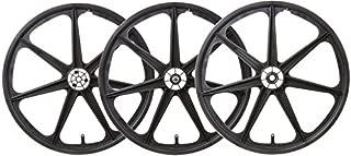 WheelMaster TRIKE MAG WHL SET BLK F/RR-DRIVE & IDLER