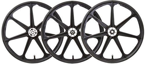 Wheel Master Trike MAG WHL Set BLK F/RR-Drive & Idler
