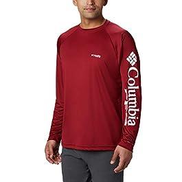 Columbia Men's PFG Terminal Tackle Long Sleeve Shirt, Sun Protection