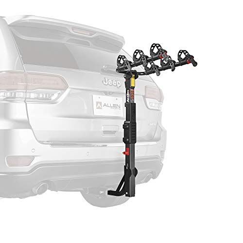 Allen Sports Premier Hitch Mounted 3-Bike Carrier, Model S535