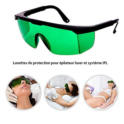 Gafas Protectoras láser IPL Equipos Belleza, Verde