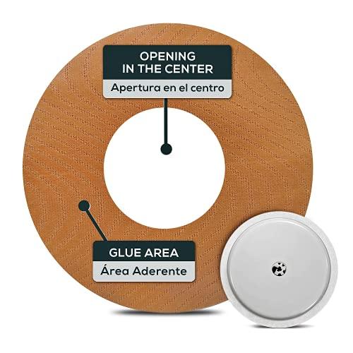 25 Stück Abbott freestyle libre 2 sensor pflaster - DAS ZENTRUM IST GEÖFFNET - freestyle libre zubehör 1 und 2 – WASSERDICHT diabetic patch - Größe M - 7.5 cm