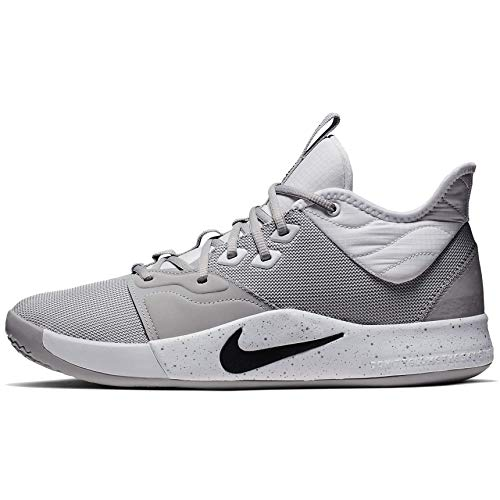Nike Pg 3 Tb Paul George Basketball Shoes Mens Cn9512-004 Size 11 Wolf Grey/Black-White