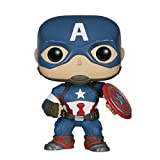 WangQ Modelo - Funko Pop Marvel Avengers 2: Captain America /// (Color : A)...