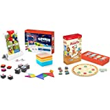 Osmo - Genius Starter Kit for iPad (New Version) (Ages 6-10) + Pizza Co. Game Bundle (Ages 5-12) iPad Base Included