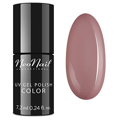 NeoNail UV Nagellack 7,2 ml - - UV Lack Gel Polish Soak off Nagellack UV Gel LED Polish Lack Shellac (3649-7 Light Beige)