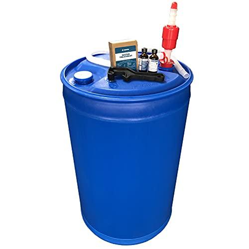 Augason Farms 6-07910 Water Filtration and Storage Kit 55 Gallon...