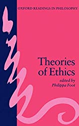 Book cover: Theories of Ethics by P. Foot