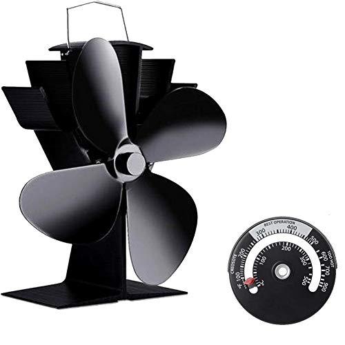 140 ° F / 60 ° C Arranque Silencioso Ventilador De Estufa