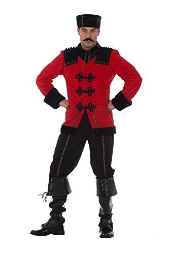 Herren Kostüm Kosake Russe Uniform Karneval Fasching Gr.50