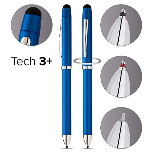 CROSSボールペン多機能ペンテックスリープラス正規輸入品メタリックブルーAT0090-8+