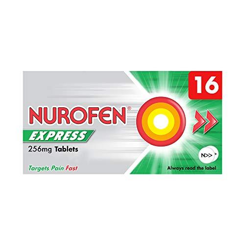 Nurofen Express Tablets Ibuprofen, 256 mg, Pack of 16