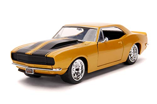 Jada Toys Bigtime Muscle 1:24 1967 Chevy Camaro Die-cast Car, Toys for Kids and Adults