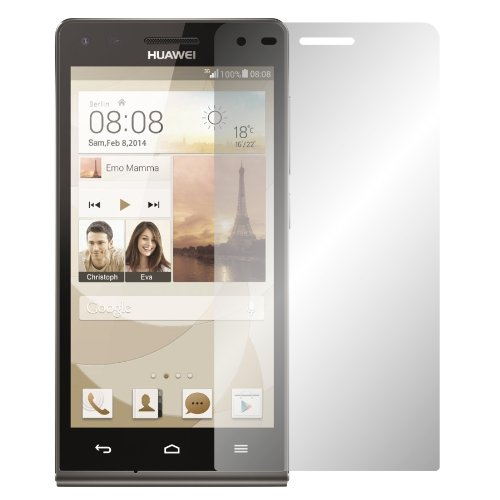 2 x Slabo Bildschirmschutzfolie Huawei Ascend G6 Bildschirmschutz Schutzfolie Folie
