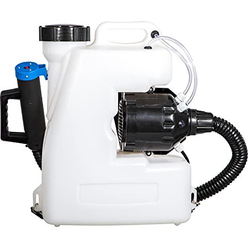 VEVOR Nebulizador Pulverizador Eléctrico 16L Pulverizador Desinfectante Atomizador 1400W Máquina de Nebulización de Mochila 750 ml/min Pulverizador Eléctrico de Niebla Fría ULV para Jardín Hospital