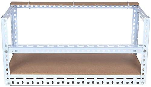 X-LSWAB Minería 6 GPU Tarjeta de gráficos Fijación Soporte Eth/BTC Ethereum Mineer Aire Aire Aire Acero Mining Mining Marco Gráficos Multifuncionales Titular de la Tarjeta Mining Frame Case con Kits