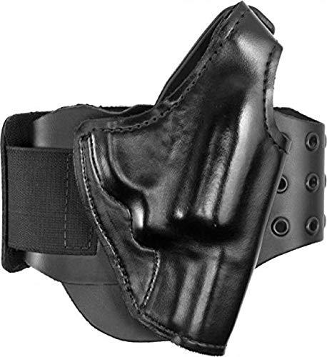 Gould & Goodrich BootLock Ankle Holster for Backup Gun for Glock 43,Right Handed, Black B716-5