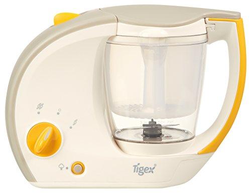 Tigex Robot Cuiseur Mixeur Mini Chef, Blanc