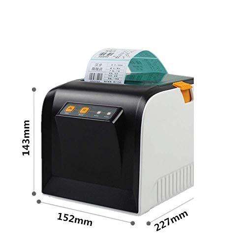 ALIZJJ Haute vitesse professionnelle Imprimante d'étiquettes, impression rapide Foudre, Plug & étiquette Feature, bar Compatible 80mm multi-système de code d'imprimante thermique Étiquette d'autocolla