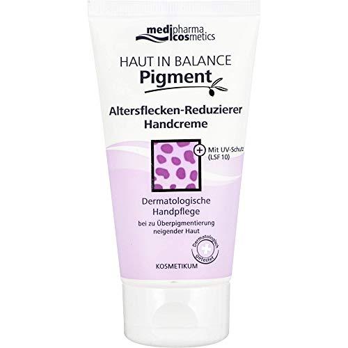 medipharma cosmetics Haut in Balance Pigment Altersflecken-Reduzierer Handcreme, 75 ml Creme