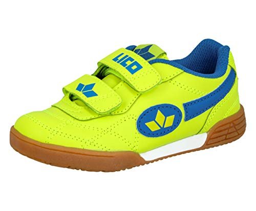 Lico Sportschuh Bernie V (Lemon Blau, Numeric_28)
