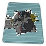 腹黒い犬 マウスパッド ゲーム競技専門のコンピューターパッド アニメ 新品 カスタム増厚さ サークルの プレゼント 作業絵画はリストバンドが必要 敷き物 18*22cm