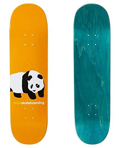 Enjoi Peekaboo Panda R7 - Tavola da skateboard, 21,6 cm, colore: Arancione
