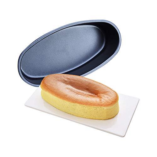 Materiale: acciaio inossidabile Facile da usare, sicuro e affidabile. Un must e una necessità in cucina. Tipo di articolo: Stampo da forno antiaderente di forma ovale Adatto per: biscotti, biscotti, ciambelle, mousse ed ecc