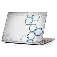 "MacBook Air 13inch 2018/2019モデル / A1932 専用ハードケース マックブック エア Mac 13"" インチ 専用 ケース カバー クリア アクセサリー 保護 (2010年 ~ 2017年モデル 非対応) 007978 クール デザイン 灰色 グレー 青 ブルー"