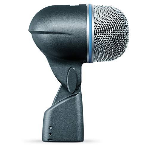 Shure Beta 52A - Microfono Dinamico Per Grancassa Con Pattern Polare Supercardioide, Progettato Specificamente Per La Grancassa E Altri Strumenti A Bassa Frequenza
