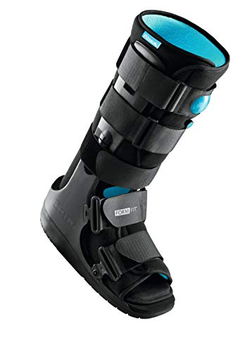 Ossur Formfit Walker Boot with Air (High Top) - Medical Grade Immobilization for Strains, Sprains & Stable Fractures with Patented Pneumatic Technology to Decrease Pain & Swelling (Large)